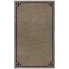One-of-a-kind Oversized Vintage French Art Deco Rug