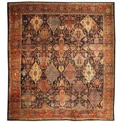 Oversized Vintage Persian Bidjar Rug
