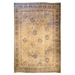 Oversized Vintage Persian Kirman Carpet