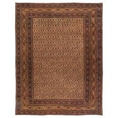 Oversized Vintage Persian Meshad Rug