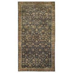 Oversized Vintage Persian Tabriz Rug