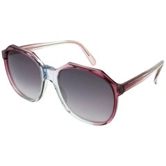 Oversized vintage sunglasses by Argos, France 70s