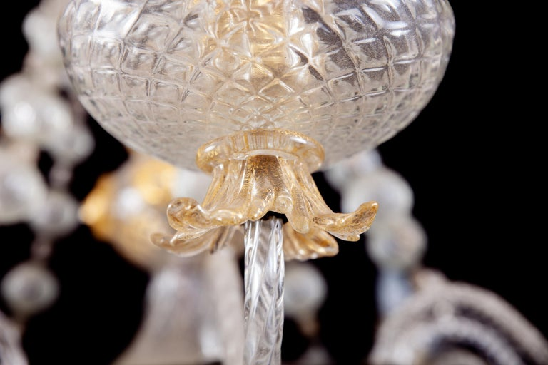 Overwhelming Murano Glass Chandelier by Barovier & Toso, 1960s For Sale 9