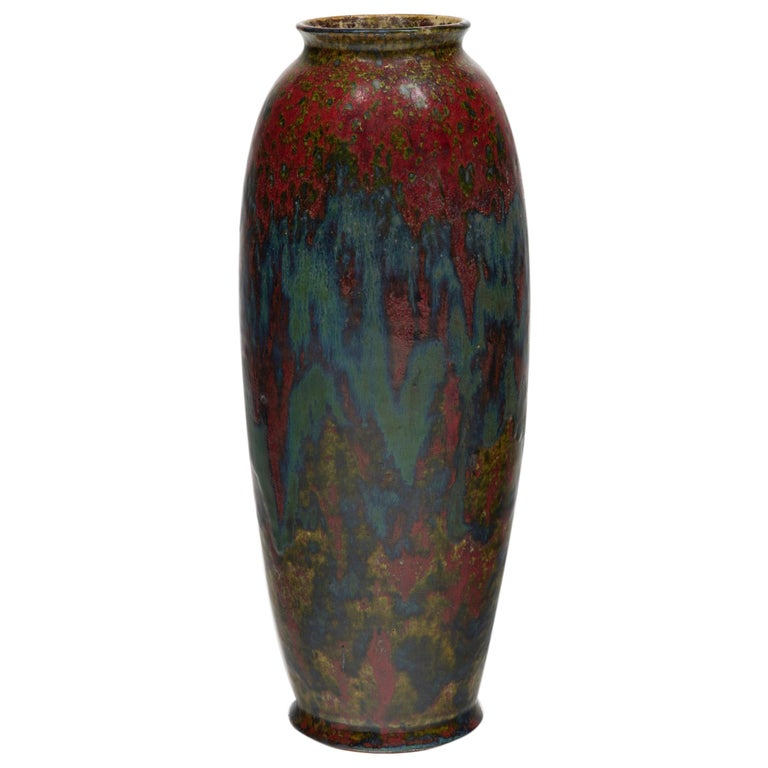 Ovoid Vase, circa 1900 For Sale