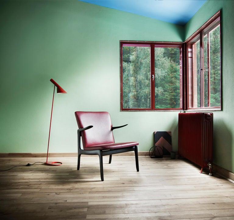OW124 Beak Chair in Walnut Oil by Ole Wanscher For Sale 7