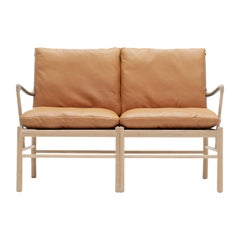 OW149-2 Colonial Sofa in Oak White Oil by Ole Wanscher