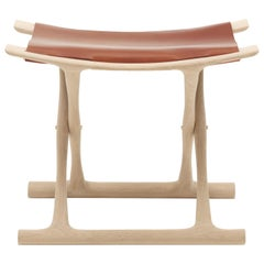 OW2000 Egyptian Footstool in Oak Soap by Ole Wanscher