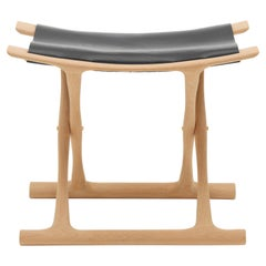 OW2000 Egyptian Footstool in Oiled Oak by Ole Wanscher