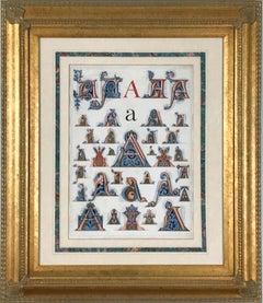 "Initial Letters ""A"" (Alphabet)"