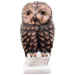 Owl Figurine from Bing & Grøndahl, 1970