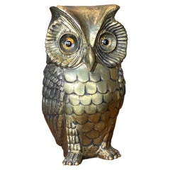Owl Ice Bucket Designed by Hans Turnwald for Freddo Therm, Switzerland, 1970s