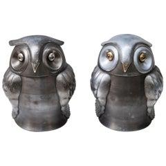 Owl Ice Bucket, Japan, 1930