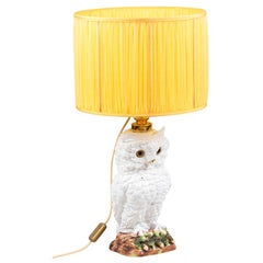 Owl Lamp in Earthenware, 1950s