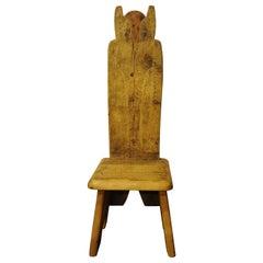 Owl Throne Chair