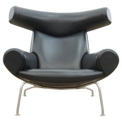 Ox Lounge Chair, Vintage Edition 2006, Black Leather