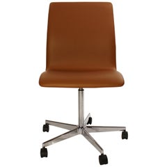 Oxford Classic Office Chair, Model 3171, by Arne Jacobsen and Fritz Hansen