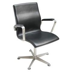 Oxford Swivel Chair by Arne Jacobsen for Fritz Hansen
