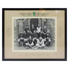Oxford University St Peter's Hall 1938-1939 Hockey XI Photograph