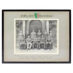 Oxford University St Peter's Hall Cricket XI 1939 Photograph