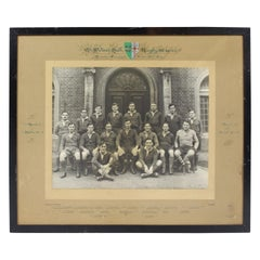 Oxford University St Peter's Hall Rugby XV 1936-1937 Photograph