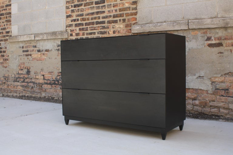 American Oxide Custom Handmade Metal and Wood Dresser or Chest of Drawers by Laylo Studio For Sale