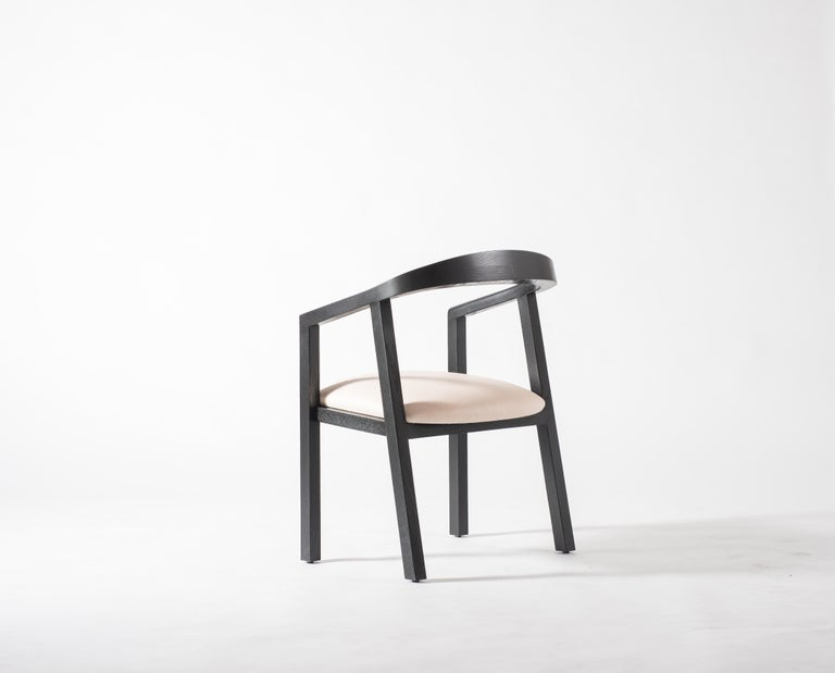 We've been tasked to design an effortless, elegant, honest and most importantly comfortable dining chair for Chef Eric Bost, whose restaurant Auburn, we've been designing for the past few years. After a good year of prototyping and honing in the