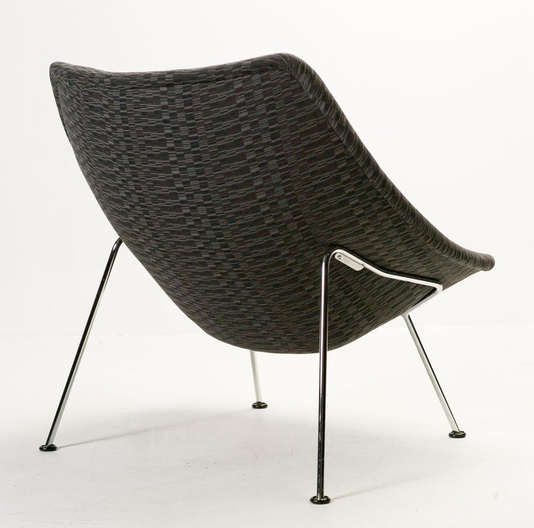 Dutch Oyster Lounge Chair F157 by Pierre Paulin for Artifort