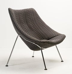Oyster Lounge Chair F157 by Pierre Paulin for Artifort