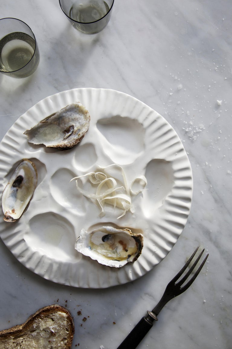 American Oyster Plate, Set of 4 For Sale