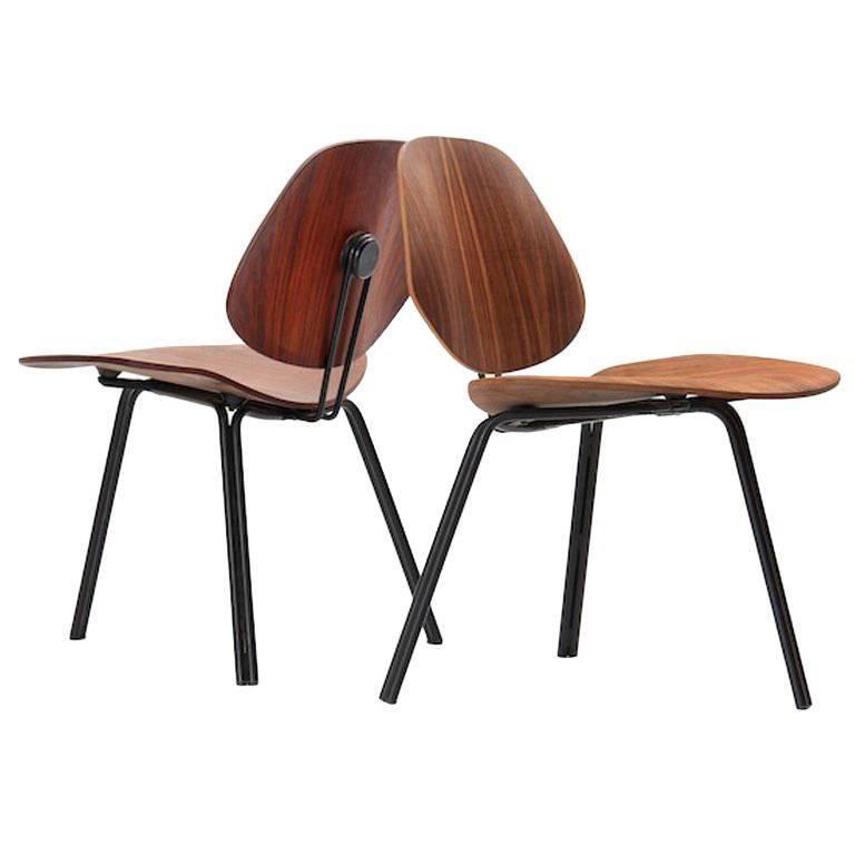 P-31 Chairs by Osvaldo Borsani