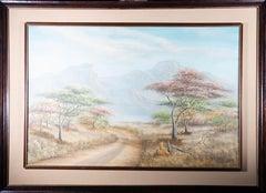 P. Chimuchera - 1998 Oil, South African Plains