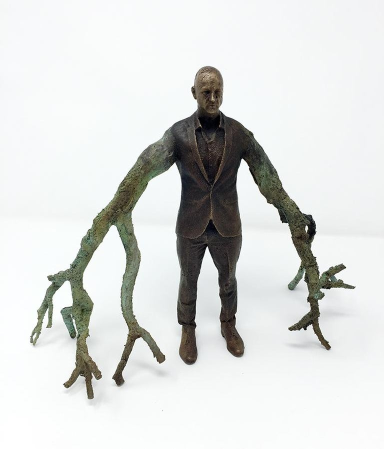 Roch Smith Figurative Sculpture - Branch Executive