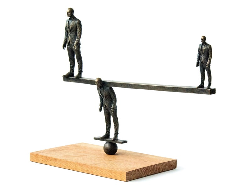 Counterpoise - Sculpture by Roch Smith