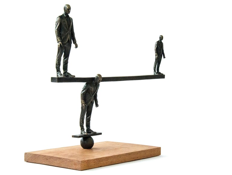 Counterpoise - Contemporary Sculpture by Roch Smith