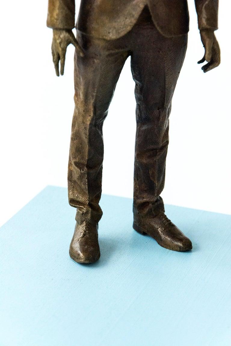 Ponder - Sculpture by Roch Smith