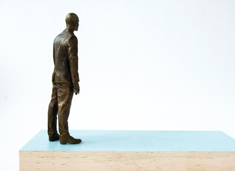 Ponder - Contemporary Sculpture by Roch Smith