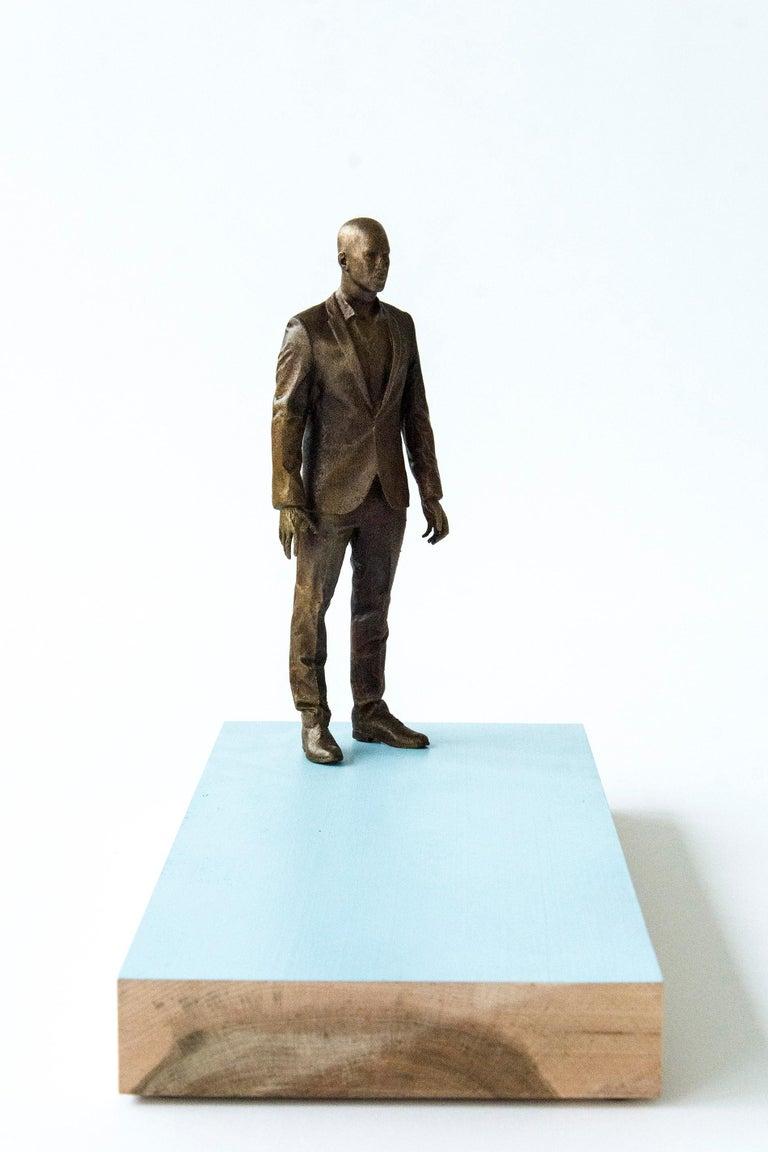Roch Smith Figurative Sculpture - Ponder