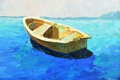Cerulean Blue Seascape