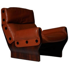 P110 'Canada' lounge chair by Osvaldo Borsani for Tecno