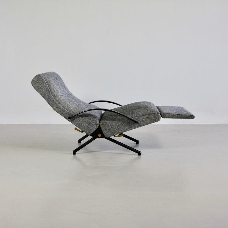 Mid-Century Modern P40 Osvaldo Borsani, Reclining Lounge Chair, 1st Edition For Sale