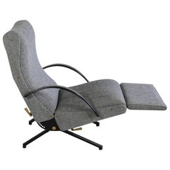 P40 Osvaldo Borsani, Reclining Lounge Chair, 1st Edition