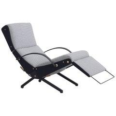 P40 Relax Chair, Designed by Osvaldo Borsani, Tecno, 1955