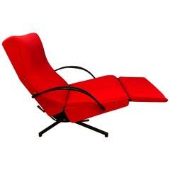 P40 Upholstered Lounge Chair by Osvaldo Borsani for Tecno