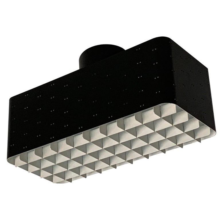 Paavo Tynell 9068 Light Black and White For Sale