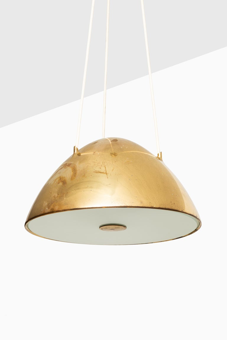 Scandinavian Modern Paavo Tynell Ceiling Lamp Model 1959 Produced by Taito Oy in Finland For Sale