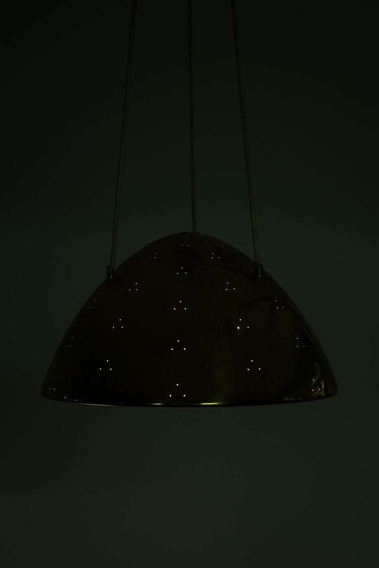 Paavo Tynell Ceiling Lamp Model 1959 Produced by Taito Oy in Finland In Good Condition For Sale In Malmo, SE