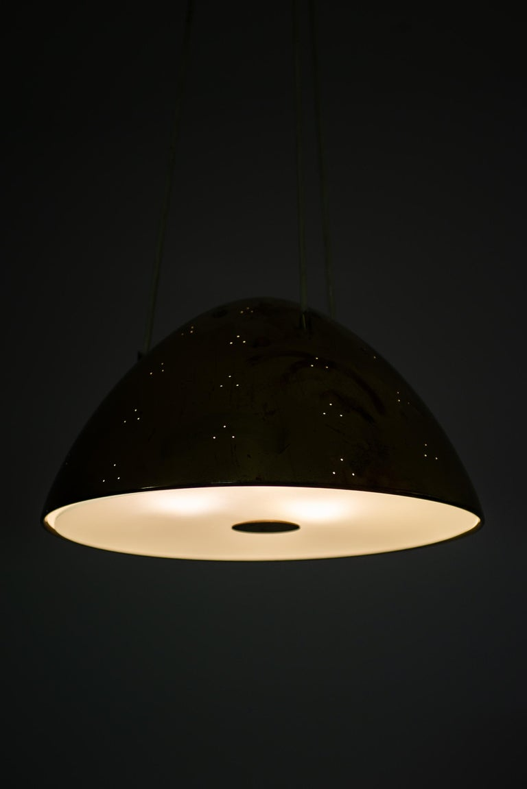 Mid-20th Century Paavo Tynell Ceiling Lamp Model 1959 Produced by Taito Oy in Finland For Sale