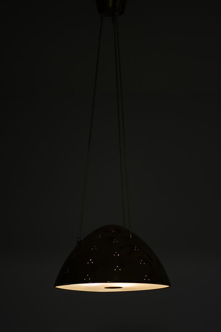 Paavo Tynell Ceiling Lamp Model 1959 Produced by Taito Oy in Finland For Sale 1