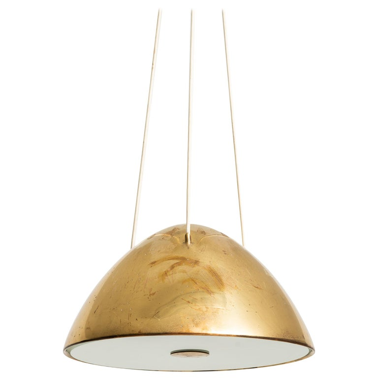 Paavo Tynell Ceiling Lamp Model 1959 Produced by Taito Oy in Finland For Sale