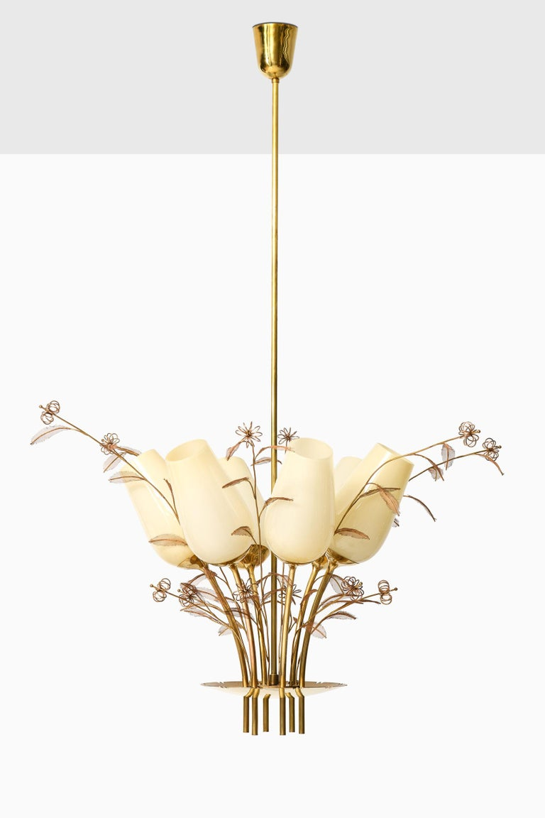 Paavo Tynell Ceiling Lamps Produced by Taito Oy in Finland For Sale 3